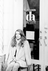 Design Archive - Tatiana (mattbellphoto) Tags: blackandwhite bw film 35mm xx eastman rodinal nikonf2 winstonsalem doublex 85mmf14 designarchive tatianabogdanrussell