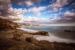 Playa El Peoncillo (anya friedrich) Tags: espaa beach strand playa andalucia malaga torrox nerja