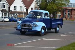 Bedford TJ reg BUR 443B (erfmike51) Tags: bedford pickup lorry rigid hcvslondontobrightonrun2016