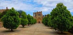 L'Esglsia de Sant Esteve, Peratallada (Meino NL) Tags: espaa spain catalunya espagne costabrava spanje peratallada medievalchurch cataloni middeleeuwsekerk lesglsiadesantesteve