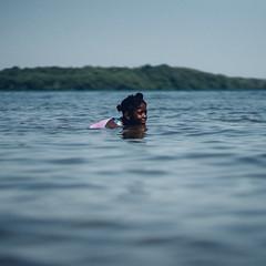 Afternoon Swim (Dan Constien) Tags: lake water childhood swim children fun cool kodakgold madisonwisconsin lakemendota canon85mm18 childrensphotography vsco sonya7 outdoorafro danconstien