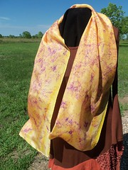 Etsy005 (5) (theresaknits) Tags: silk printing scarves dyeing eco
