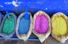 Colores para pintar las casas. Chefchaouen. Marruecos. (lameato feliz) Tags: colores chefchaouen marruecos