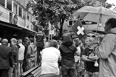 Suisse (Thomas8047) Tags: street city people urban bw blancoynegro monochrome schweiz switzerland nikon flickr fussball suisse candid zurich streetlife streetscene streetphoto zrich schweizer ch personen onthestreets zri swissflag menschenmenge langstrasse piranhabar streetphotographer kreis4 stadtansichten blackandwithe passanten schwarzundweiss 175528 stadtzrich fussballfans streetpix d300s streetartstreetlife euro2016 iamnikon snapseed thomas8047 strassencene zrigrafien zrichstreets hofmanntmecom schweizpolen swissfahne