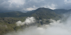 Great End Inversion (Nick Landells) Tags: cloud mist fog inversion temperature bowfell styhead greatend sprinklingtarn pikeofstickle allencrags eskpike illcrag pikeostickle skewgill
