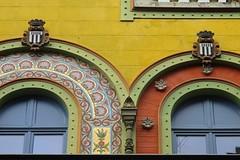 Anciens magasins Valton (1897) - 9 rue d'Antrain, Rennes (35) (Yvette Gauthier) Tags: architecture magasin bretagne 35 rennes mosaque picerie leetvilaine isidoreodorico magasinsvalton