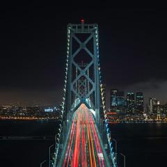 Bay Bridge (Gregory Lebreton | Photography) Tags: california city longexposure bridge urban usa architecture cityscape sanfransisco archi