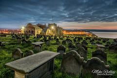 The church of St Mary ... (Mike Ridley.) Tags: church spooky whitby stmaryschurch whitbyabbey whitbygoth stmaryschurchwhitby gaaveyard