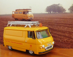 Memories for 'Fathers Day' (Les Fisher) Tags: 1978 van fathersday 1973 gpo commer diecast commervan modelvan