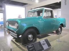 International Scout 80 - 1961 (MR38) Tags: auto museum scout international 80 1961 petersen