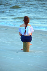 Girl Sitting on the Beach at Twilight DSC_0630_edited-1 (John Dreyer) Tags: beacj beach twilight girl sitting sand atlanticocean nikon nikond5100 copyright2016johnjdreyer photocreditjohnjdreyer
