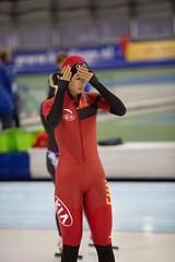 A37W0016 (rieshug 1) Tags: ladies sport skating worldcup groningen isu dames schaatsen speedskating kardinge 1000m eisschnelllauf juniorworldcup knsb sportcentrumkardinge worldcupjunioren kardingeicestadium sportstadiumkardinge