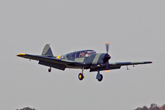 G-ASTG Nord 1002 Pingouin II (BG+KM) R J Fray Sturgate Fly In 05-06-16 (PlanecrazyUK) Tags: sturgate egcs fly in 050616 lincoln aero club ltd gastg nord1002pingouinii bgkm rjfray fly in