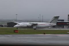 EI-RJO wet take off (aitch tee) Tags: wet weather aircraft takeoff airliner rj85 walesuk cardiffairport cityjet eirjo maesawyrcaerdydd cwlegff