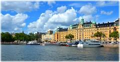 Nybroviken, Stockholm (lagergrenjan) Tags: nybroviken stockholm dramaten strandvgen