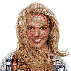 VIP Blog Sociale - 9 July 2008 - Britney Spears mosaic portrait by Tsevis (9a9.red) Tags: portrait blog spears mosaic july 2008 britney sociale tsevis