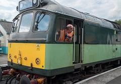 Is it this way to Whitby? (davep90) Tags: station train track fuji diesel yorkshire rail railway fujifilm moors 1024 grosmont davep90