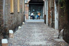 Caf (Vanni Rizzioli) Tags: street film 50mm ar f14 sony streetphotography konica ferrara provia caff 6000 ilce 400x vsco a6000