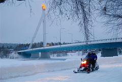 Finlandia (kizeme) Tags: europa finlandia lapponia rovaniemi motoslitta