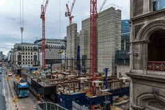 Goldman Sachs HQ Construction (James D Evans - Architectural Photographer) Tags: architecture construction constructionsite core farringdonstreet goldmansachs londonconstruction