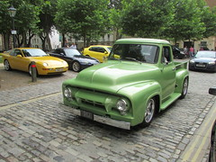 Ford F-100 (Andrew2.8i) Tags: ford f100 f 100 classic american pick up truck car queen square bristol show meet