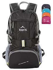 Venture Pal Ultralight Lightweight Packable Foldable Waterproof Travel Camping Hiking Outdoor Sports Backpack Daypack + Lifetime Warranty Black (wupplestravel) Tags: travel camping black sports outdoor hiking backpack ultralight venture waterproof daypack warranty foldable lifetime lightweight packable