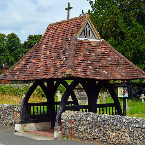 St Mary's Beddington / Lychgate