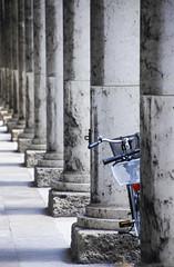 Between (C_MC_FL) Tags: bike bicycle pillar repetition repeating row column canon eos 60d munich mnchen germany deutschland fahrrad sule hintereinander reihe fotografie photography dof dephtoffield tiefenschrfe schfeverlauf tamron b008 18270