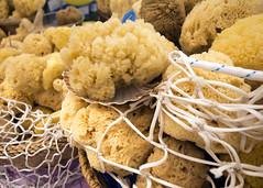 Esponjas Naturales (rodrigomezs) Tags: mallorca nature mercado esponja natural marino marinero red tradicion