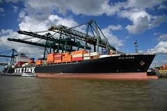 NYK Diana DST_4556 (larry_antwerp) Tags: psaterminal container europaterminal antwerp antwerpen       port        belgium belgi          schip ship vessel        schelde