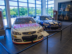 Hendrick Motorsports Museum (Anthony's Olympus Adventures) Tags: hendrick hms museum hendrickmotorsports nascar car motorsport racing exhibit trophy racecar vehicle charlotte concordnc america usa shop store daleearnhardtjr earnhardt