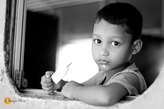 Innocent Look (jalam@machizo.com) Tags: innocent look kayes dewanganj portrait bangladesh pepole travel kamalapur train