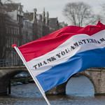 "Thank you Amsterdam flag<a href=""http://www.flickr.com/photos/28211982@N07/16145006223/"" target=""_blank"">View on Flickr</a>"