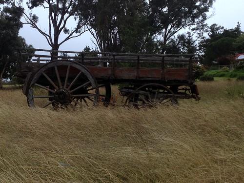 "Old wagon <a style=""margin-left:10px; font-size:0.8em;"" href=""http://www.flickr.com/photos/131123613@N03/16187836163/"" target=""_blank"">@flickr</a>"