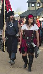 Pirate couple 8675PatLam (Studio5301) Tags: costumes festival kids children drums kilt bellydancer drummer faire clan renaissancefaire chld arizonarenaissancefestival fairycostumes studio5301 festivalsinphoenix patricialam patricialamphotographycom