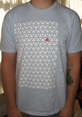 #1343 Friendly Fires - Triangles (Minor Thread) Tags: blue paris shirt logo concert triangle tour pop british merch xl pala minorthread recordings friendlyfires tshirtwars