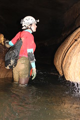 Traveling Upstream (wrcochran) Tags: tag alabama caves limestone grotto cave caving karst cavern speleo pothole spelunking nss