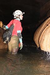 Traveling Upstream (wrcochran) Tags: tag alabama caves limestone grotto cave caving karst cavern speleo pothole spelunking nss