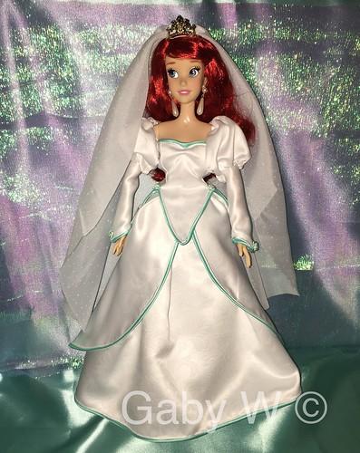 Disney Singing Doll Ariel OOAK Wedding dress - a photo on Flickriver