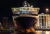 Blue Star Paros (n1kolas a.) Tags: blue night port star ship nightshot vessel greece ferries paros piraeus