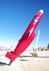 Radioplane RP-54D Crossbow (eLaReF) Tags: white museum missile sands crossbow radioplane rp54d