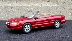1997 Chrysler Sebring JXi Convertible (JCarnutz) Tags: 1997 chrysler sebring diecast 125scale brookfieldcollectorsguild