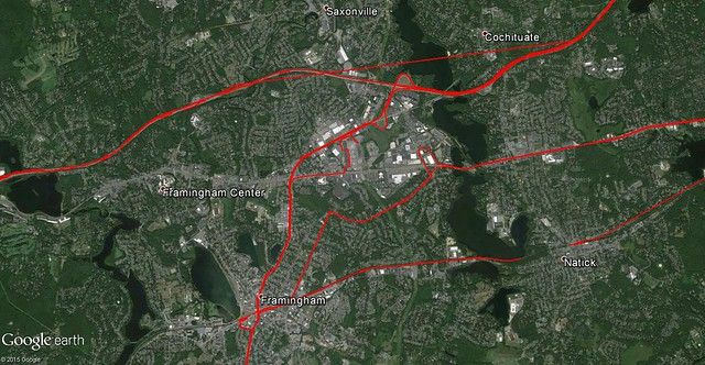 March 2015 My Tracks (Framingham)