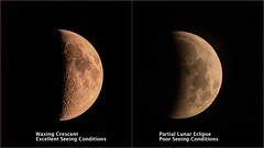 A Tale of Two Moon Photos (StephenGA) Tags: moon collage eclipse 2014 2015 150600mm