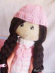Boneca Sofia (AnnCrafts Artesanato) Tags: handmade boneca tilda menina handmadedolls handmadedoll shabbychic anncraftsdesign anndolls