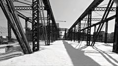 (mahler9) Tags: bridge winter bw snow boston march rust rusty decayed decaying fortpointchannel jaym 2015 oldnorthernavenuebridge mahler9