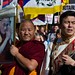 Tibet protest, Chinese Embassy London, 7 March 2015