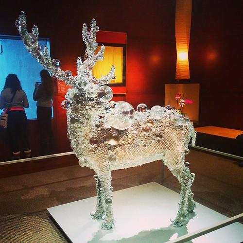 #museumsunday #met #metropolitanmuseum #japanesesection #elk #bubbles