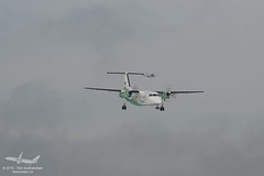 Widerøe - LN-WIJ - DHC-8-103 Dash 8 (Aviation & Maritime) Tags: norway prop turboprop osl gardermoen dhc dash8 engm oslolufthavngardermoen dhc8 osloairport osloairportgardermoen dehavillandcanadadhc8103dash8 lnwij