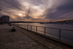 Oh to own a yacht (Explore) (trevorhicks) Tags: yard marina canon yacht royal plymouth william devon tamron tamar 6d